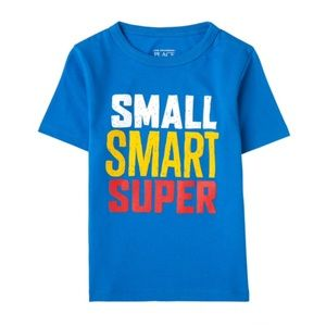 NWT Children's Place Blue Graphics T-Shirt Top 5T